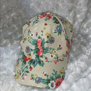 Flora baseball cap